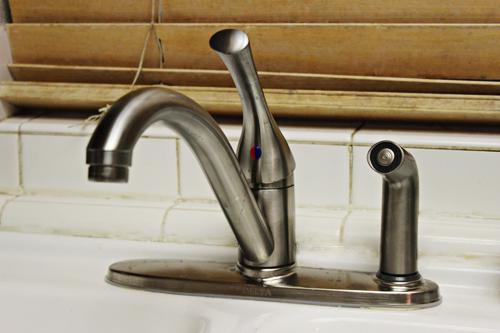 Our new Delta Kitchen Faucet