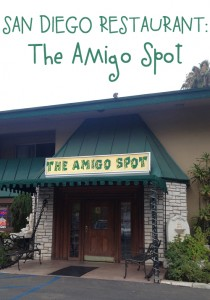 San Diego Restaurant: The Amigo Spot