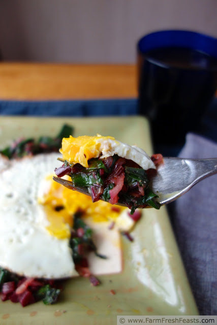 Sauteed Beet Greens and Spring Onions by Farm Fresh Feasts