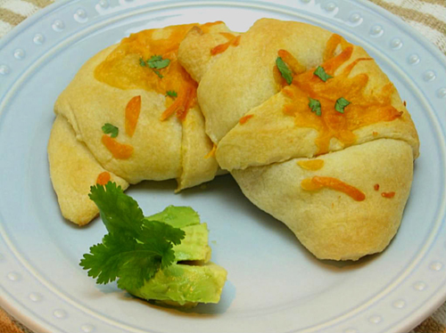 Taco Stuffed Crescent Rolls by Willow Bird Baking