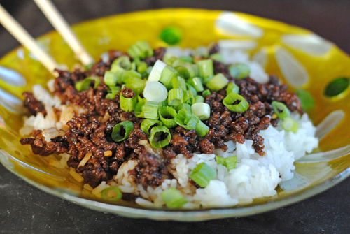 easy korean beef over rice by juanitas cocina