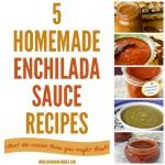 5 Homemade Enchilada Sauce Recipes