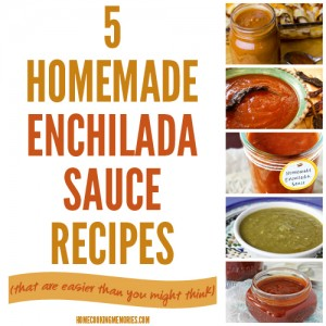 5 Homemade Enchilada Sauce Recipes