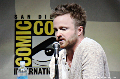 Aaron Paul at Comic-Con 2013