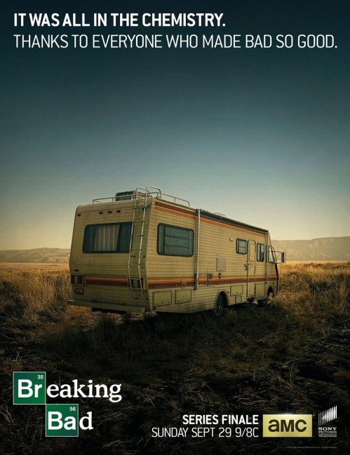 Breaking Bad - Series Finale Poster