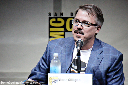 Breaking Bad creator, Vince Gilligan