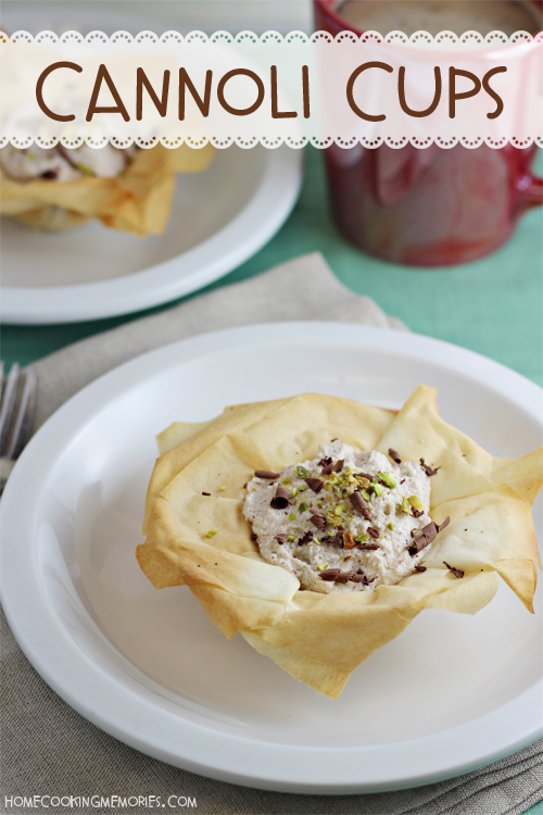 These Easy Cannoli Cups Are A Simple Yet Elegant Dessert With Less Than 100