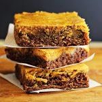 Easy Pumpkin Cheesecake Brownies Recipe