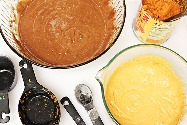Easy Pumpkin Cheesecake Brownies Recipe