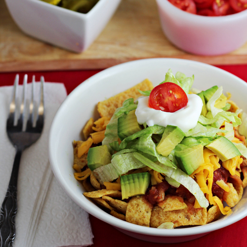 Frito Olé - easy one pot dinner & great for tailgating