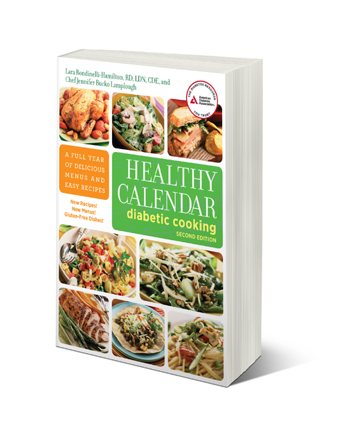 Healthy Calendar Diabetic Cooking Cookbook