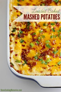 Loaded Baked Mashed Potatoes Recipe