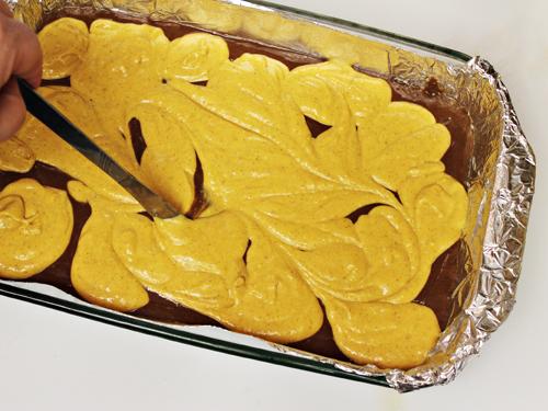 Pumpkin Brownies 4