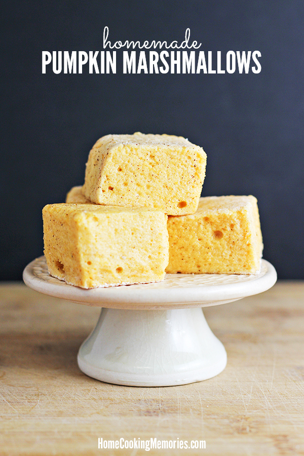 Homemade Pumpkin Marshmallows Recipe