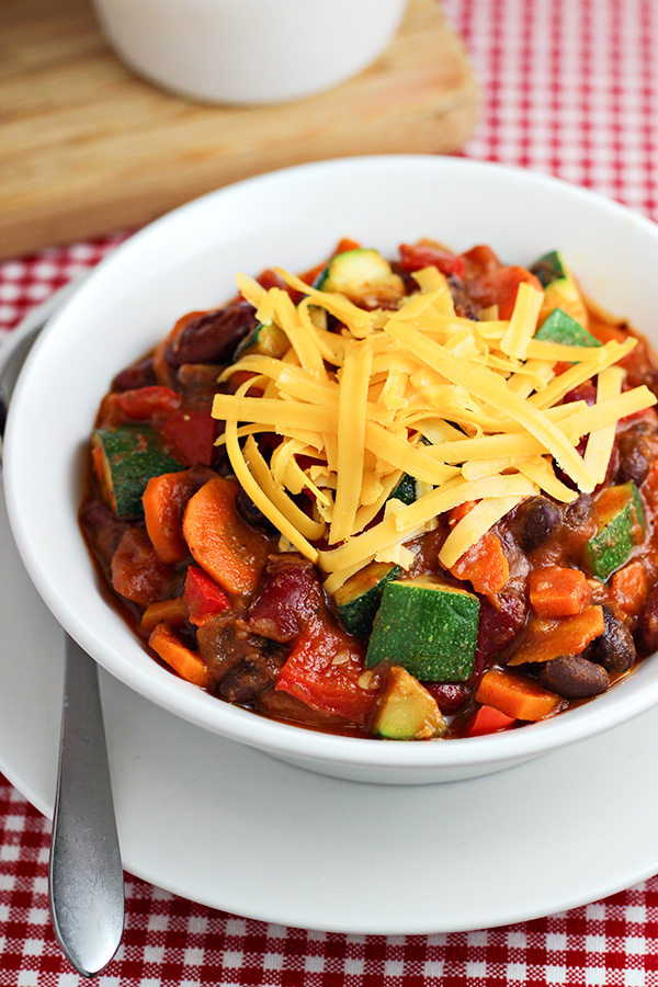 Veggie Chili Recipe