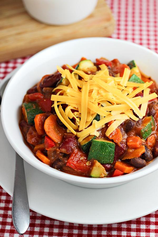 Veggie Chili Recipe