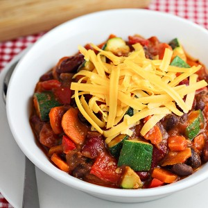 Veggie Loaded Chili Recipe