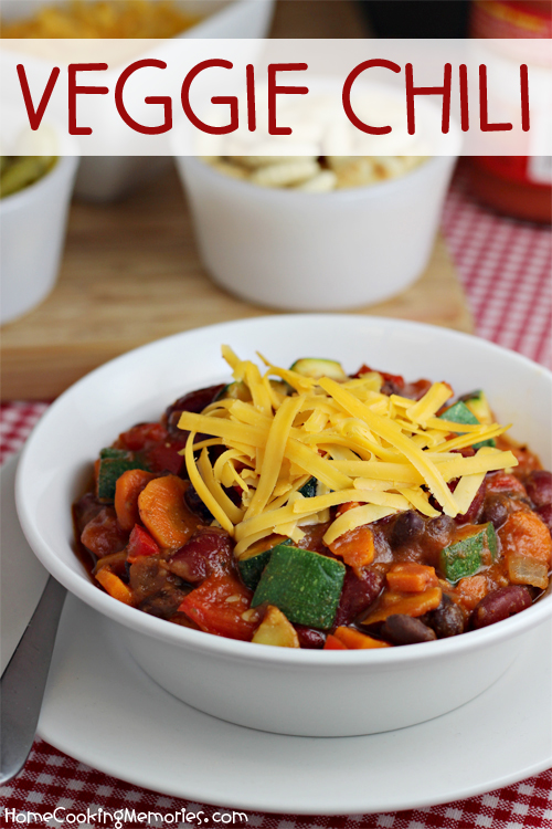 Veggie Chili by Home Cooking Memories