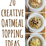 20 Creative Oatmeal Topping Ideas