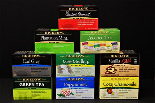 Bigelow Tea - new package design