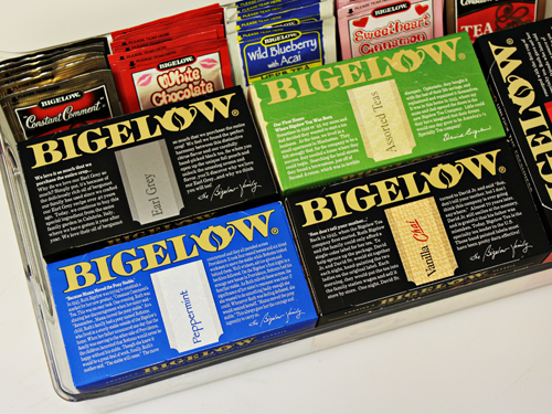 Bigelow Tea storage