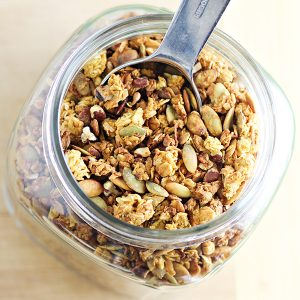 Coconut Pumpkin Granola Recipe