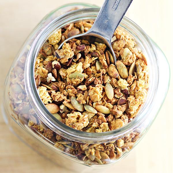 Coconut-Pumpkin Granola Recipe