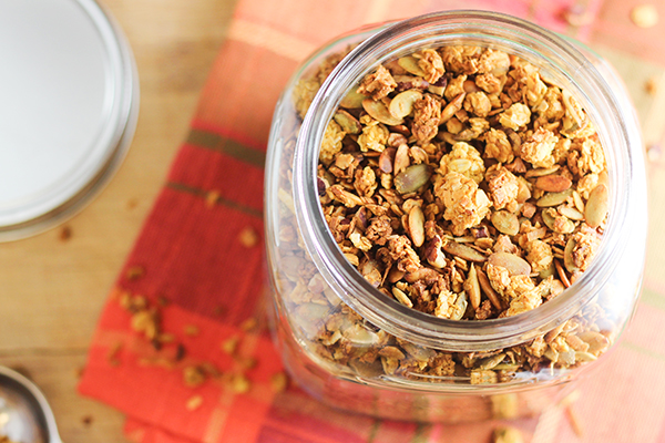 Coconut-Pumpkin Granola Recipe