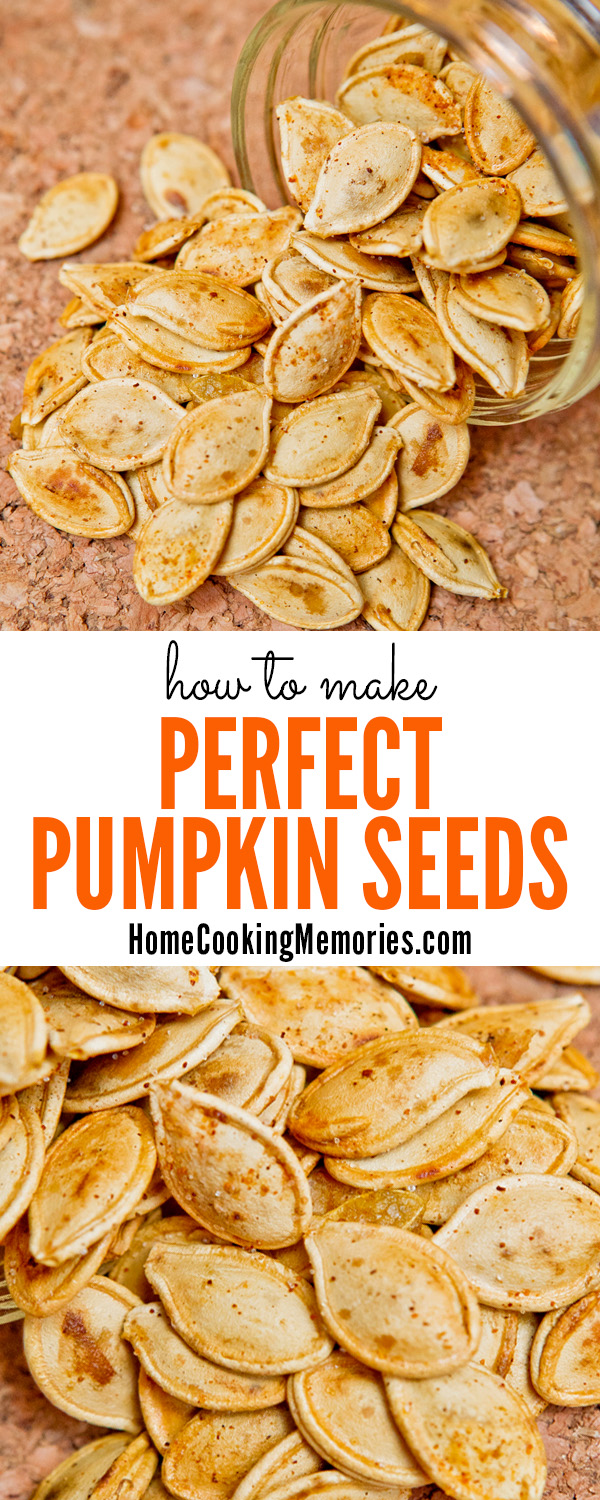 How to Roast Perfect Pumpkin Seeds!