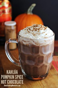 Kahlua Pumpkin Spice Hot Chocolate