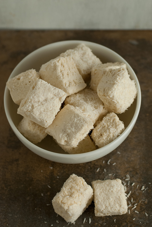 Pina Colada Marshmallows by Pineapple and Coconut