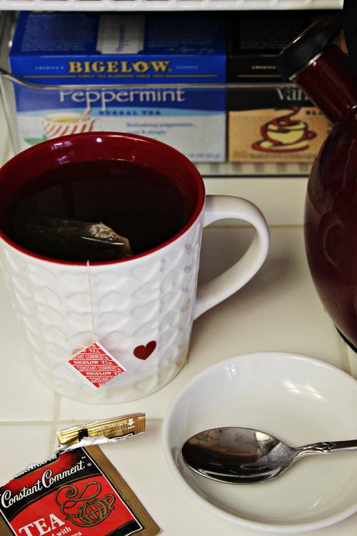 Tea and Coffee Station 7