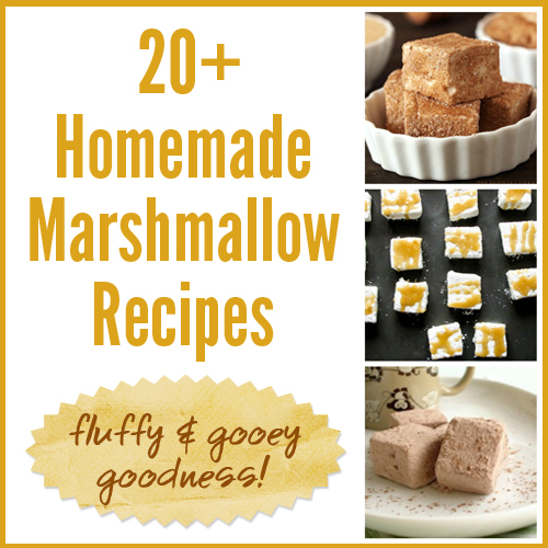Homemade Marshmallow Recipes