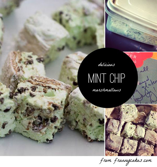 mint chip marshmallows by frannycakes