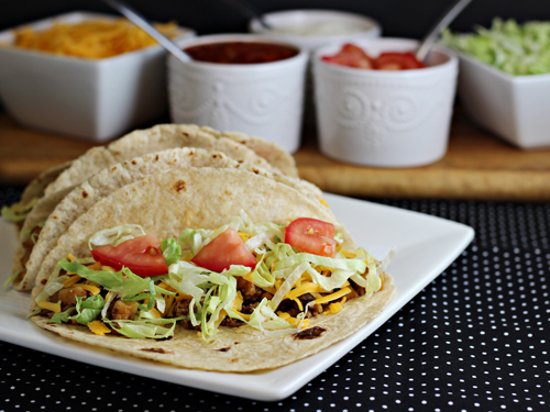 Beef and Potato Tacos #OreIdaHashBrn #shop #cbias