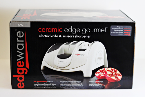 Edgeware Ceramic Edge Gourmet Electric Knife and Scissors Sharpener Edgeware Ceramic Edge Gourmet Electric Knife and Scissors Sharpener #shop #cbias