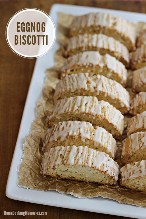 Eggnog Biscotti #HolidayBaking #shop #cbias