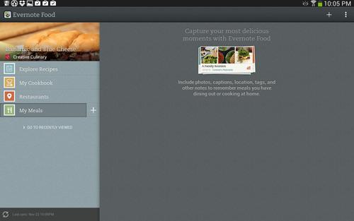 Evernote Food #shop