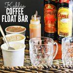 How to Make a Kahlua Coffee Float Bar