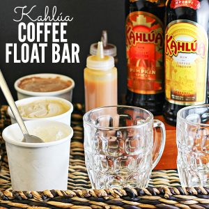 How to Make a Kahlúa Coffee Float Bar