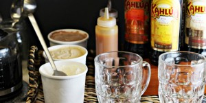 Kahlúa Coffee Float Bar