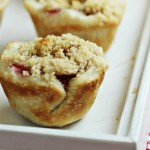 Mini Cherry Pies - made in a mini muffin tin
