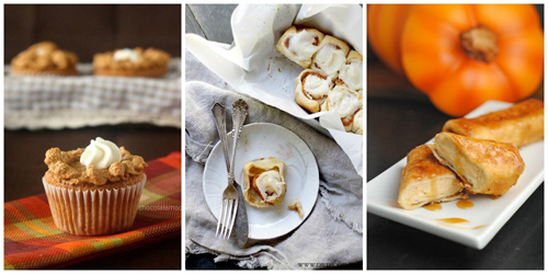 Recipes that use 1/2 cup pumpkin purée