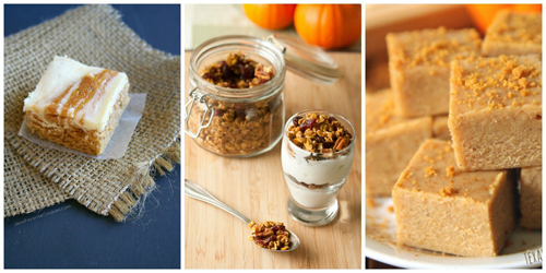 Recipes that use 1/3 cup pumpkin purée