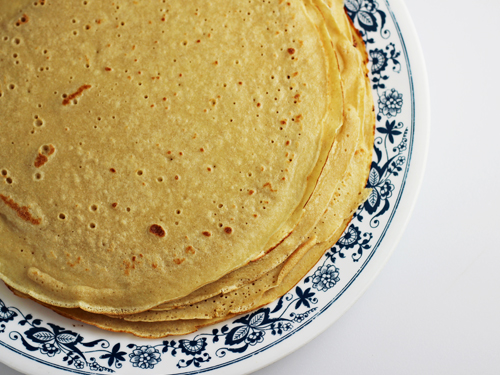 how to make whole wheat crepes