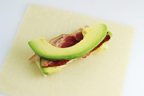 How to Make Avocado Bacon Egg Rolls Recipe