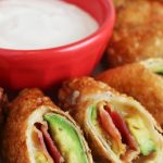 Avocado Bacon Egg Rolls Recipe