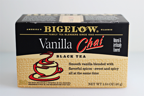 Bigelow Tea Vanilla Chai #AmericasTea #shop #cbias