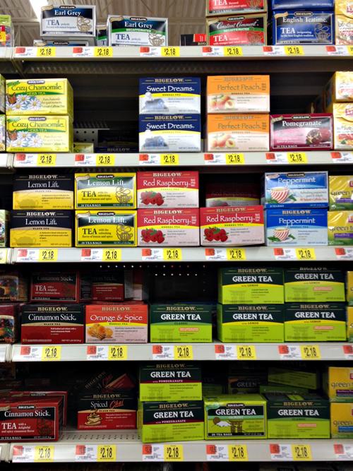 Bigelow Tea at Walmart #AmericasTea #shop #cbias