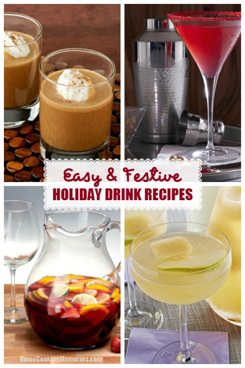 Easy and festive holiday drink recipes home cooking memories Simple holiday cocktails